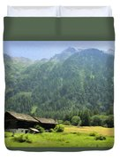 Swiss Mountain Home Duvet Cover