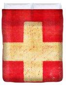 Switzerland Flag Duvet Cover