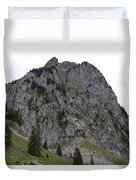 Switzerland. Large Mythen Duvet Cover