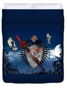 Sword And Shield Duvet Cover
