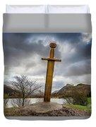 Sword Of Llanberis Snowdonia Duvet Cover