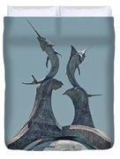 Swordfish Sculpture Duvet Cover