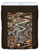 Sycamore Tree Abstract # 9283 Duvet Cover