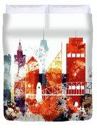 Sydney Cityscape Duvet Cover