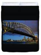 Sydney Harbor Bridge Duvet Cover