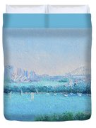 Sydney Harbour And The Opera House Duvet Cover