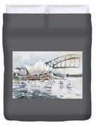 Sydney Opera  Duvet Cover