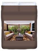 Symmetrical Balcony Duvet Cover