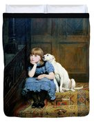 Sympathy Duvet Cover by Briton Riviere
