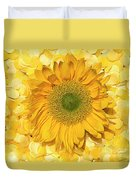 Symphony In Yellow Duvet Cover