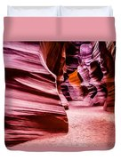 Antelope Canyon Light Duvet Cover