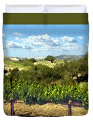 Syrah For Miles Duvet Cover