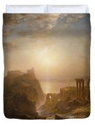 Syria By The Sea Duvet Cover by Frederic Edwin Church