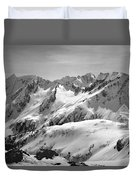 T-404403 Winter View North Cascades Duvet Cover