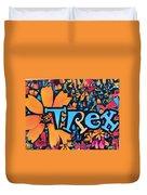 T-rex Duvet Cover