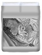 Tabby Kitten Duvet Cover