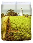Table Cape Lighthouse Duvet Cover