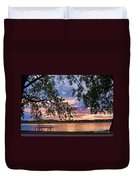 Table For Four With A View Duvet Cover