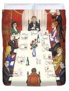 Table For Ten Duvet Cover