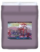 Table Land3 Duvet Cover