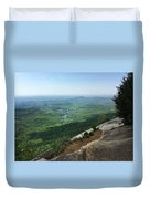 Table Rock Overlook Duvet Cover by Kelly Hazel