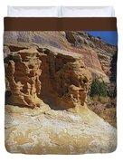 Table Rock Duvet Cover