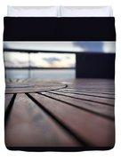 Table Texture Duvet Cover
