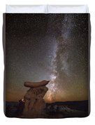 Table Top Milky Way Duvet Cover
