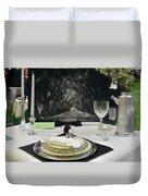 Tablescape Duvet Cover