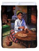 Tablia Table  Duvet Cover