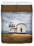 Tacking Point Lighthouse At Port Macquarie, Nsw, Australia Duvet Cover
