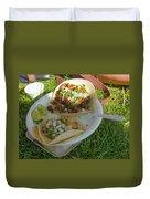 Taco Duvet Cover