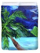 Tahiti Beach Duvet Cover