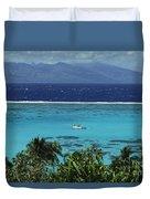 Tahiti, Moorea Duvet Cover