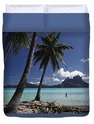 Tahiti View Duvet Cover