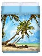 Tahitian Idyll Duvet Cover