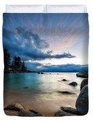 Tahoe Bursting Clouds Duvet Cover