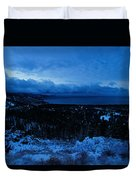 Tahoe Dawning Duvet Cover