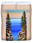 Tahoe Notch Duvet Cover