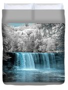 Tahquamenon Falls Ir 720nm Duvet Cover