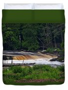 Tahquamenon Lower Falls Upper Peninsula Michigan 04 Duvet Cover