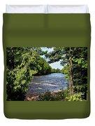 Tahquamenon River Duvet Cover