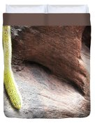 Tail Of The Cactus Duvet Cover