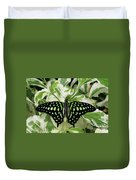 Tailed Jay Butterfly #2 Duvet Cover