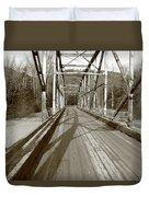 Taiya River Bridge #1 Duvet Cover