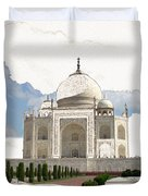 Taj Mahal Dreams Of India Duvet Cover