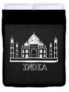Taj Mahal India Duvet Cover