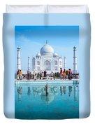 Taj Mahal  Duvet Cover by Nila Newsom