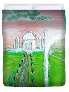 Taj Mahal Noon Duvet Cover