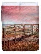 Take A Long Walk Into Dawn Duvet Cover